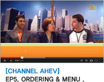 [CHANNEL AHEV] EP5. ORDERING & MENU